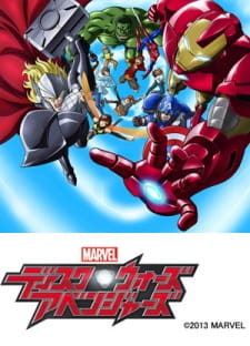 Marvel Disk Wars The Avengers Dub